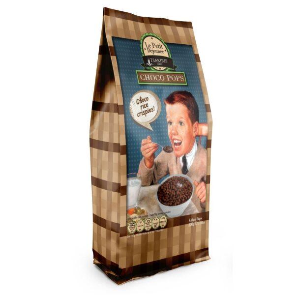 Готовый завтрак Le Petit Dejeuner TSAKIRIS FAMILY шоколадный рис - 500гр
