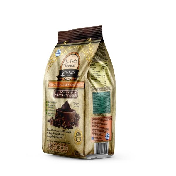 Гранола Le Petit Dejeuner TSAKIRIS FAMILY с шоколадом - 350 гр