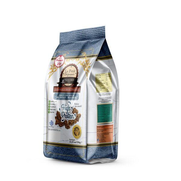 Гранола Le Petit Dejeuner TSAKIRIS FAMILY с высоким содержанием белка - 350 гр