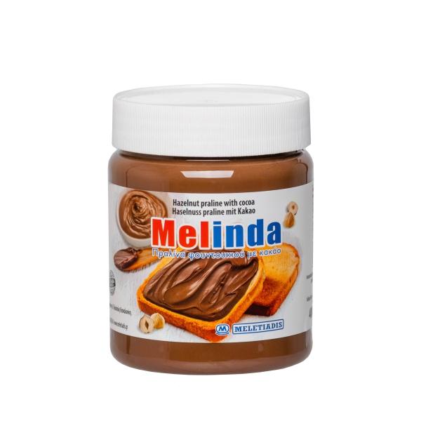 Паста ореховая Melinda с какао - 400 гр