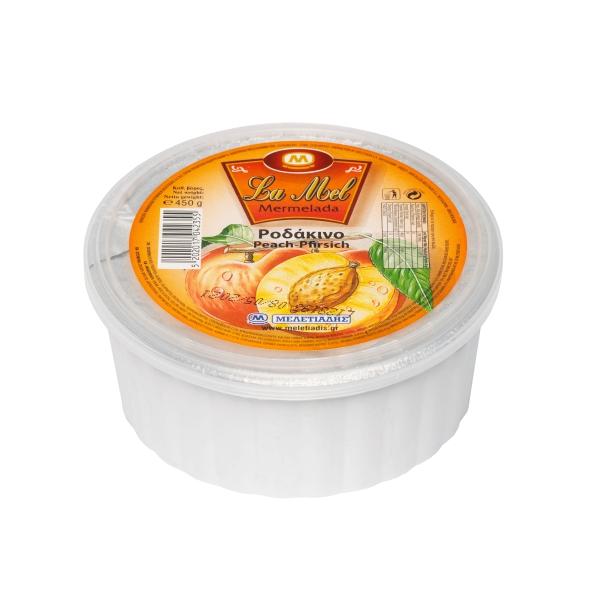 Персиковый джем La Mel - 450 гр