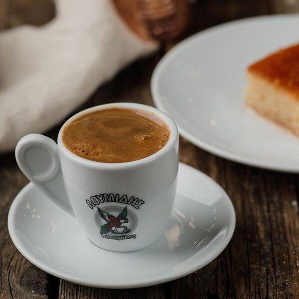 Традиционный греческий молотый кофе Loumidis Papagalos - 96 гр