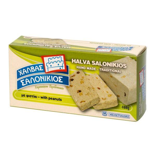 Халва кунжутная Salonikios с арахисом - 400 гр