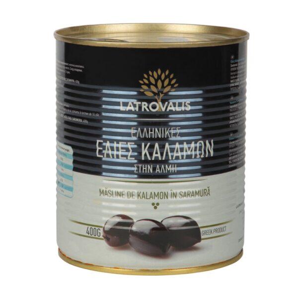 Оливки каламон Latrovalis с косточками ж/б - 810 гр