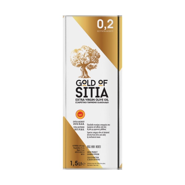 Оливковое масло Gold of Sitia 02 (Extra Virgin) - 1,5л