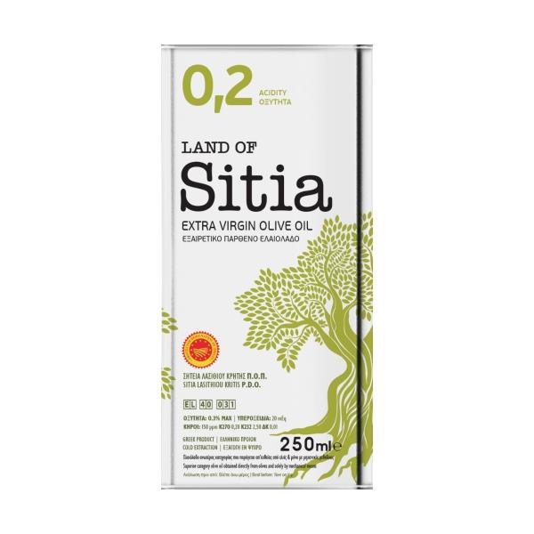 Оливковое масло Land of Sitia 02 (Extra Virgin) - 250мл