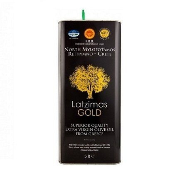 Оливковое масло Latzimas Gold (Extra Virgin) - 5л
