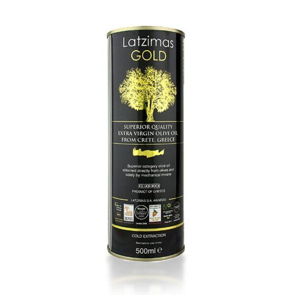 Оливковое масло Latzimas Gold (Extra Virgin) ж/б - 500мл