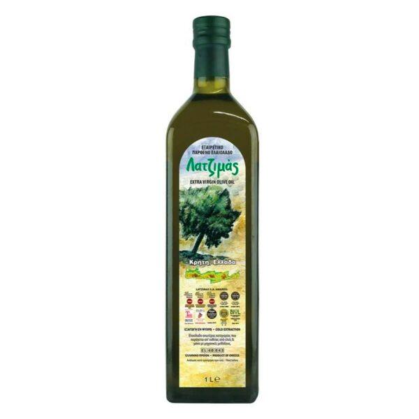 Оливковое масло Latzimas (Extra Virgin) - 1л
