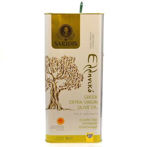 Оливковое масло Saridis (Extra Virgin) - 3л