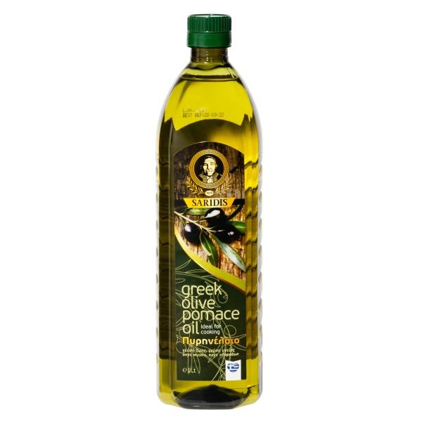 Оливковое масло для жарки Saridis (Pomace) - 1л