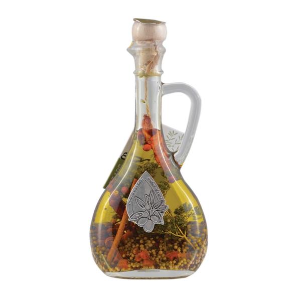 Оливковое масло с травами и специями Tzoulia (Extra Virgin) - 250мл