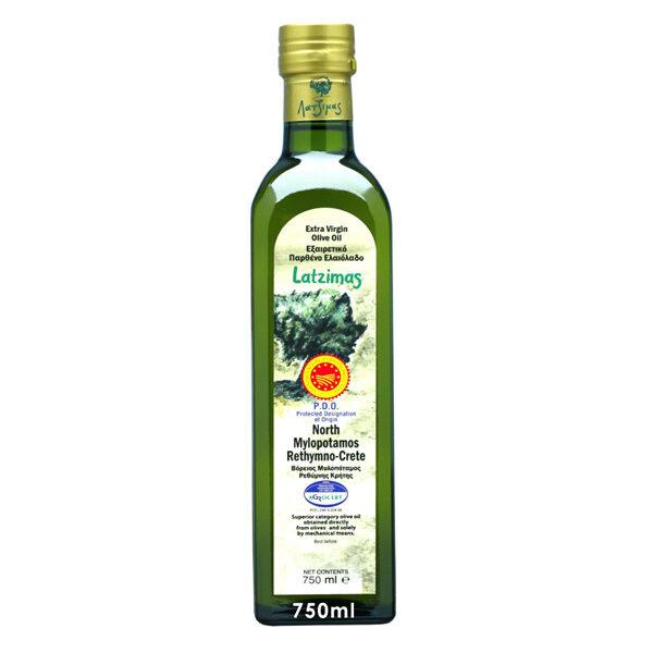 Оливковое масло Latzimas (Extra Virgin) - 750мл