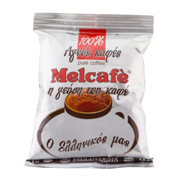 Традиционный греческий молотый кофе Melcafe -100 гр